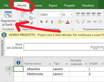 Come creare e condividere un pool di risorse in Microsoft Project